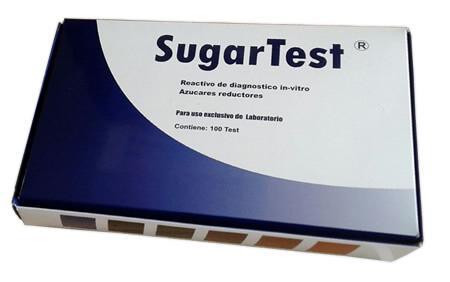 Caja Producto Colombiano Sugar Test
